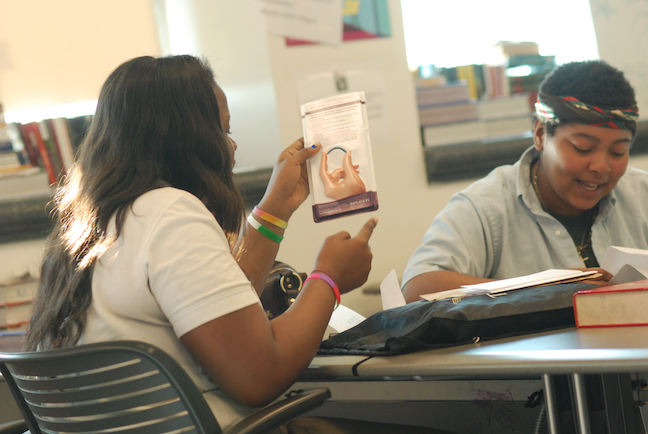 At a Baltimore magnet school, students learn about sex ed in an evidence-based program developed by The Healthy Teen Network, which promotes comprehensive health instruction.