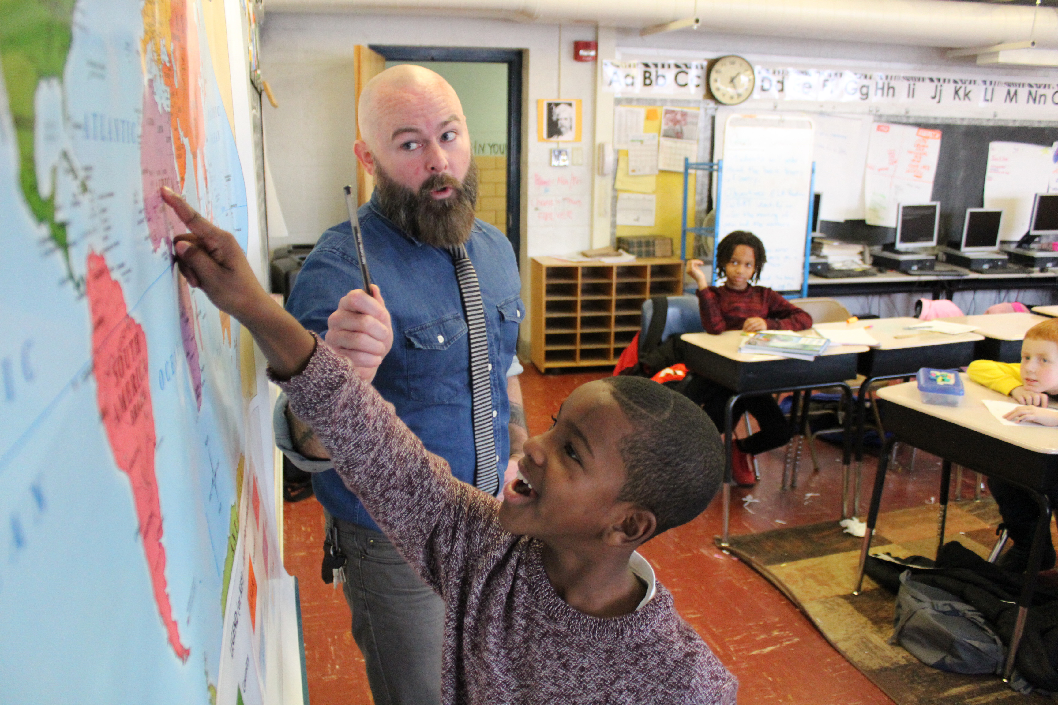 Schenectady students gain a sense of accomplishment by completing challenging assignments.