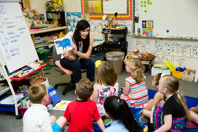 By launching a free evening preschool program—taught by district teachers and held in already existing classroom space—Vancouver Public Schools in Washington has provided access to early childhood education and kindergarten readiness to the students of working parents who may not be able to participate at traditional times.