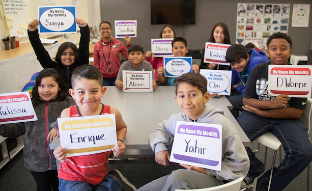 The Santa Clara County Office of Education in California created the My Name, My Identity pledge to encourage educators to prioritize pronouncing students' names correctly. The initiative's website offers tips on how to learn names without making any children feel excluded.
