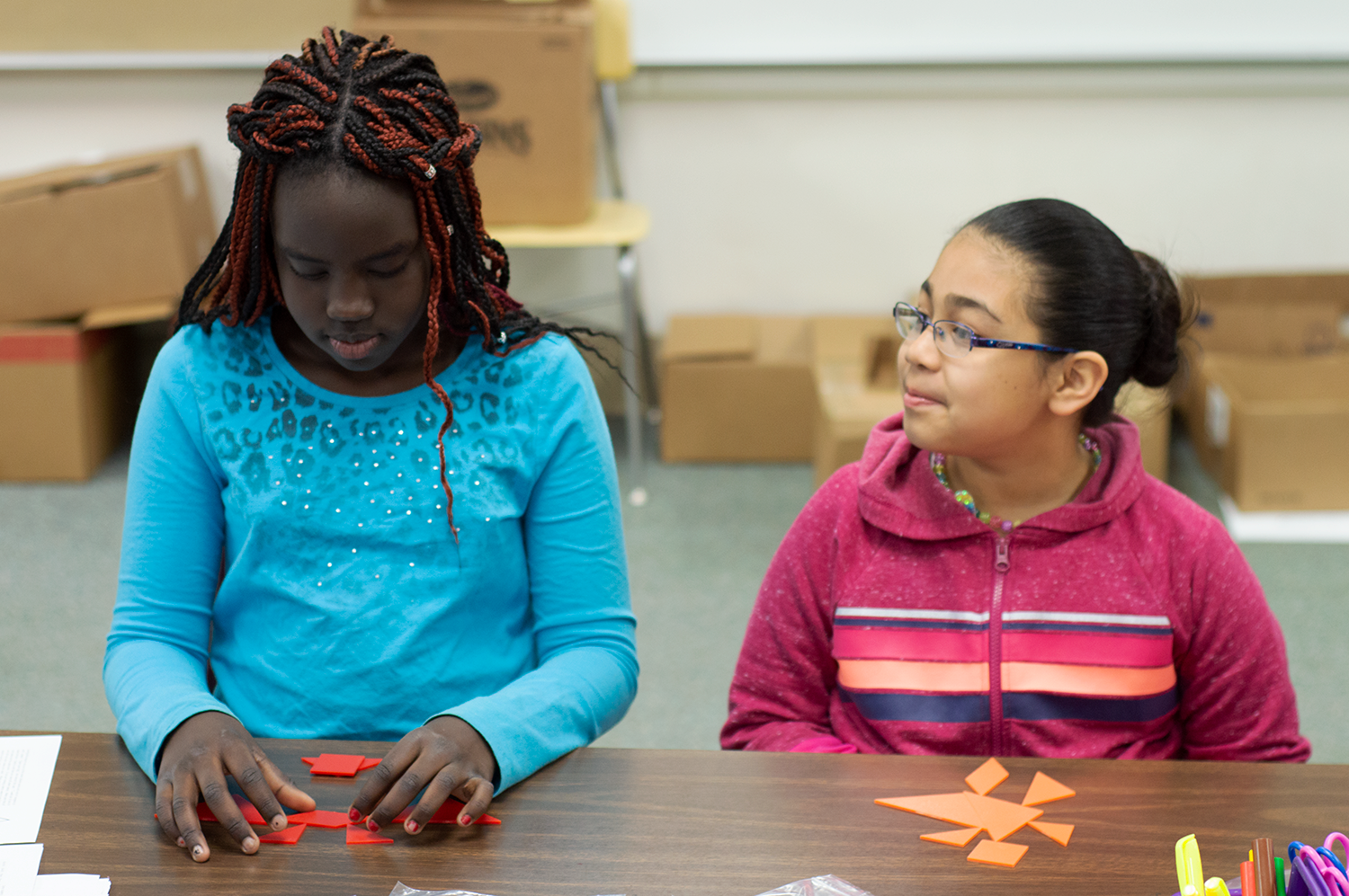 Minnesota's Austin Public Schools reaches out to parents and guardians to encourage them to have their children tested for gifted and talented programs.