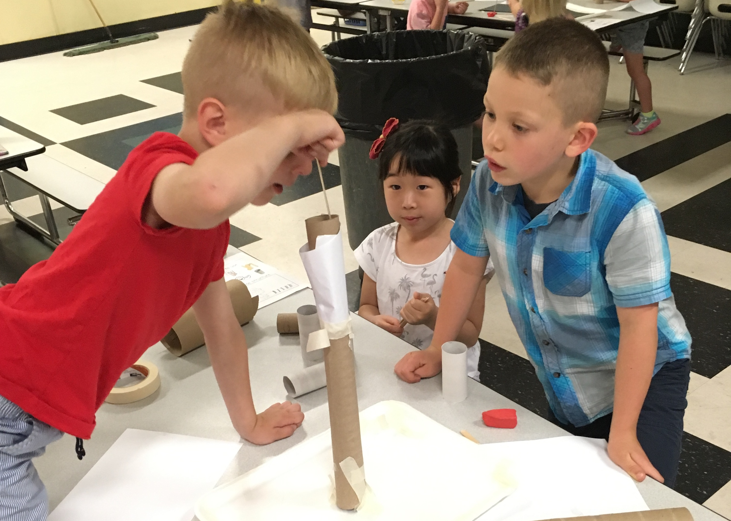 The NGSS push for phenomena-based learning has reached these science students in Burlington Public Schools in for Massachusetts.