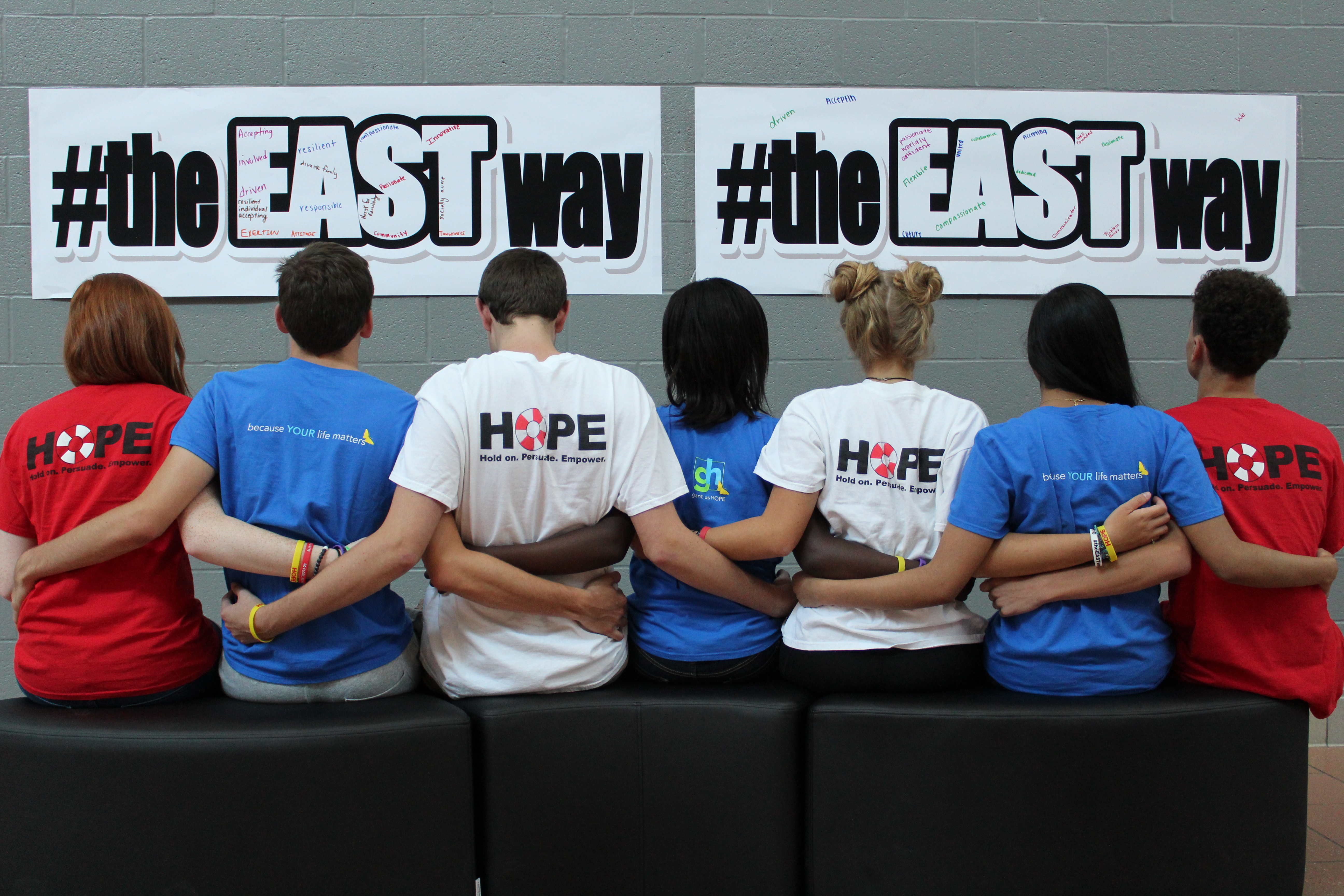 Students at Lakota East High School in Ohio formed a Hope Squad to prevent suicide and offer mental health support to classmates.