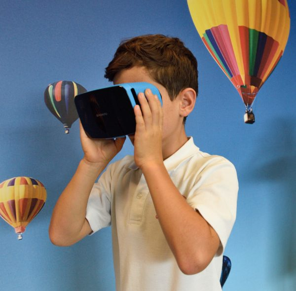 Retained learning often occurs from actual experiences, making VR-based education compelling. VR is a completely immersive experience, in which users wear VR goggles to see artificial environments.
