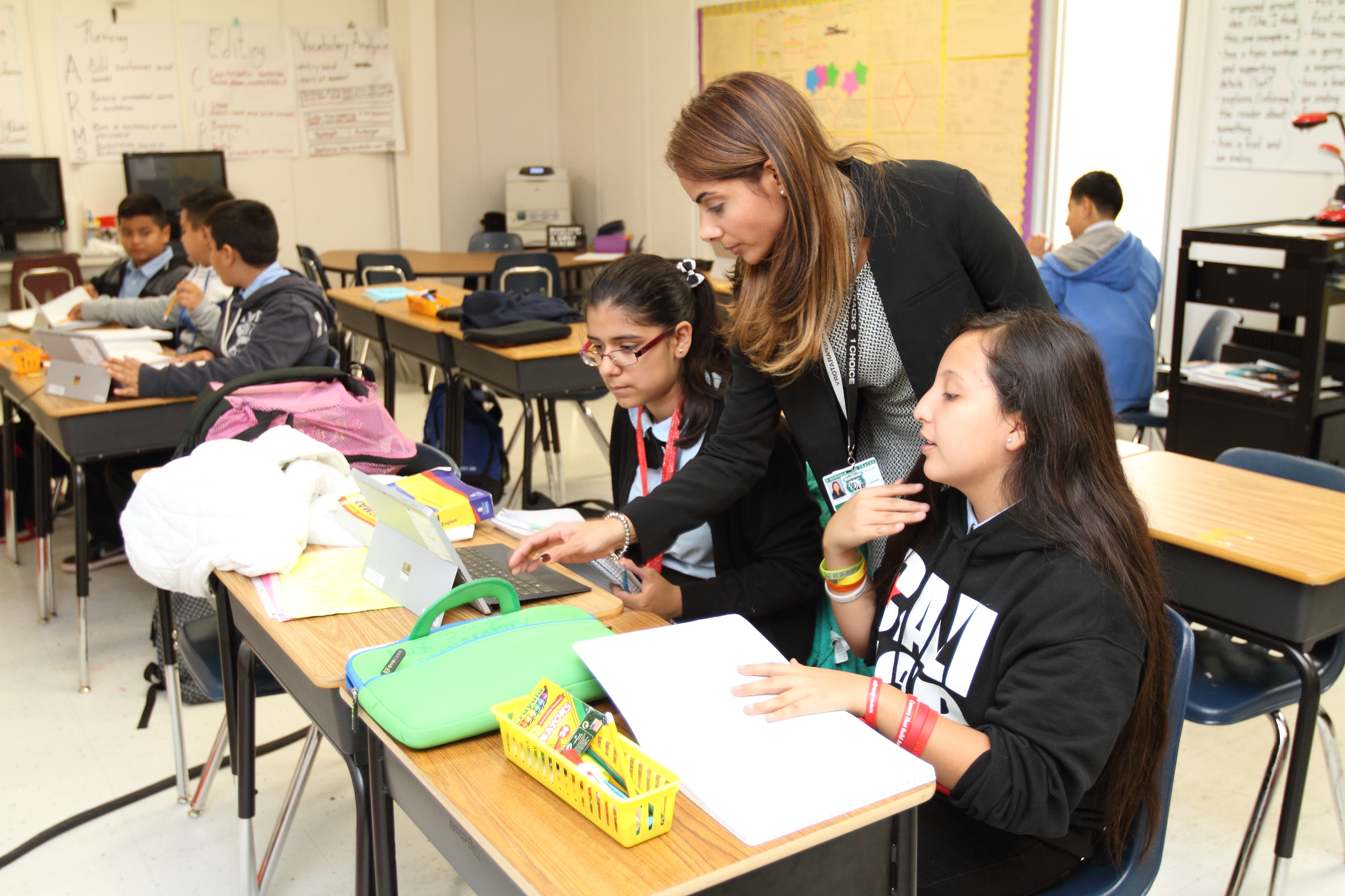 A report on California's dual-language immersion push sheds light on a bilingual teacher shortage: the number of teachers with bilingual certifications decreased from about 1,500 annually in the 1990s to around 700 in 2015-16.