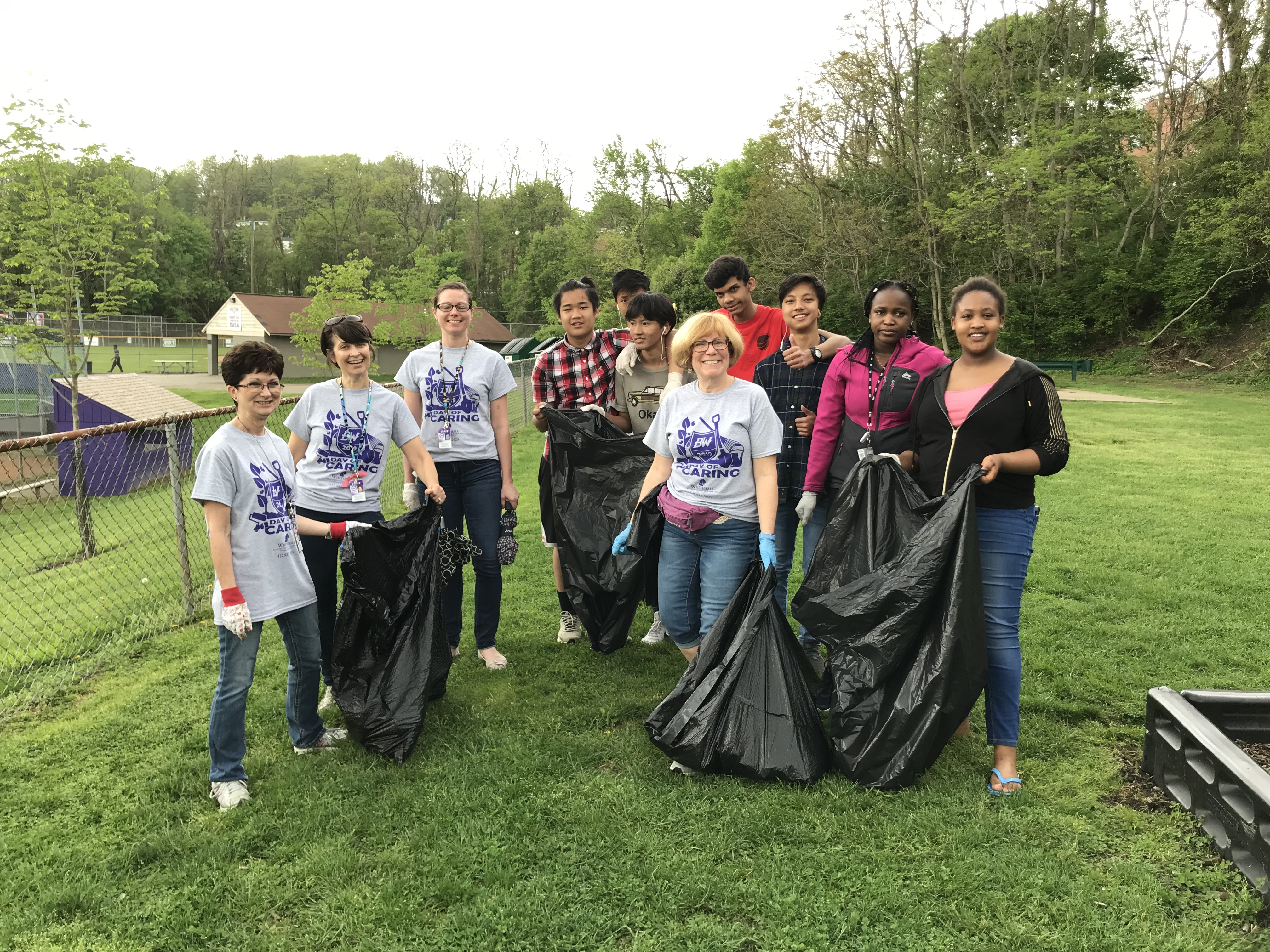 As part of a school community outreach event, Pittsburgh-area students shopped for groceries, repaired sinks and trimmed hedges. This school community engagement strategy was meant to connect with senior citizens who pay taxes but have no other ties to the district.