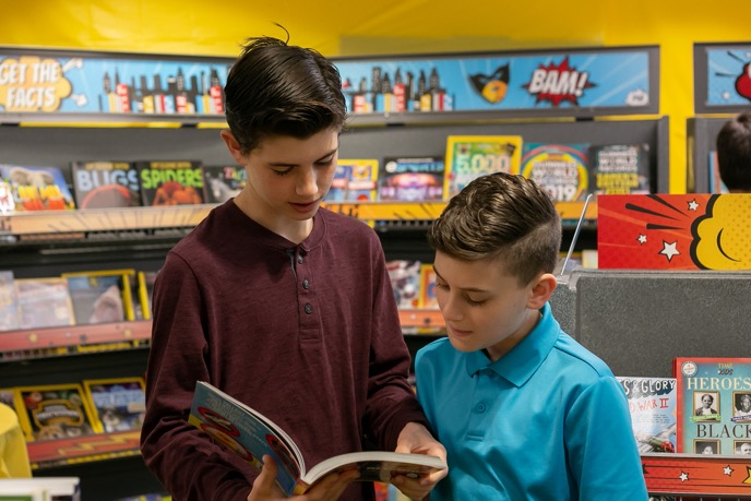 Parents still gravitate toward a school book fair because they like when children get reading recommendations from educators. Providers who have offered e-books at the fairs have found that kids, and many adults, still prefer paperbacks.