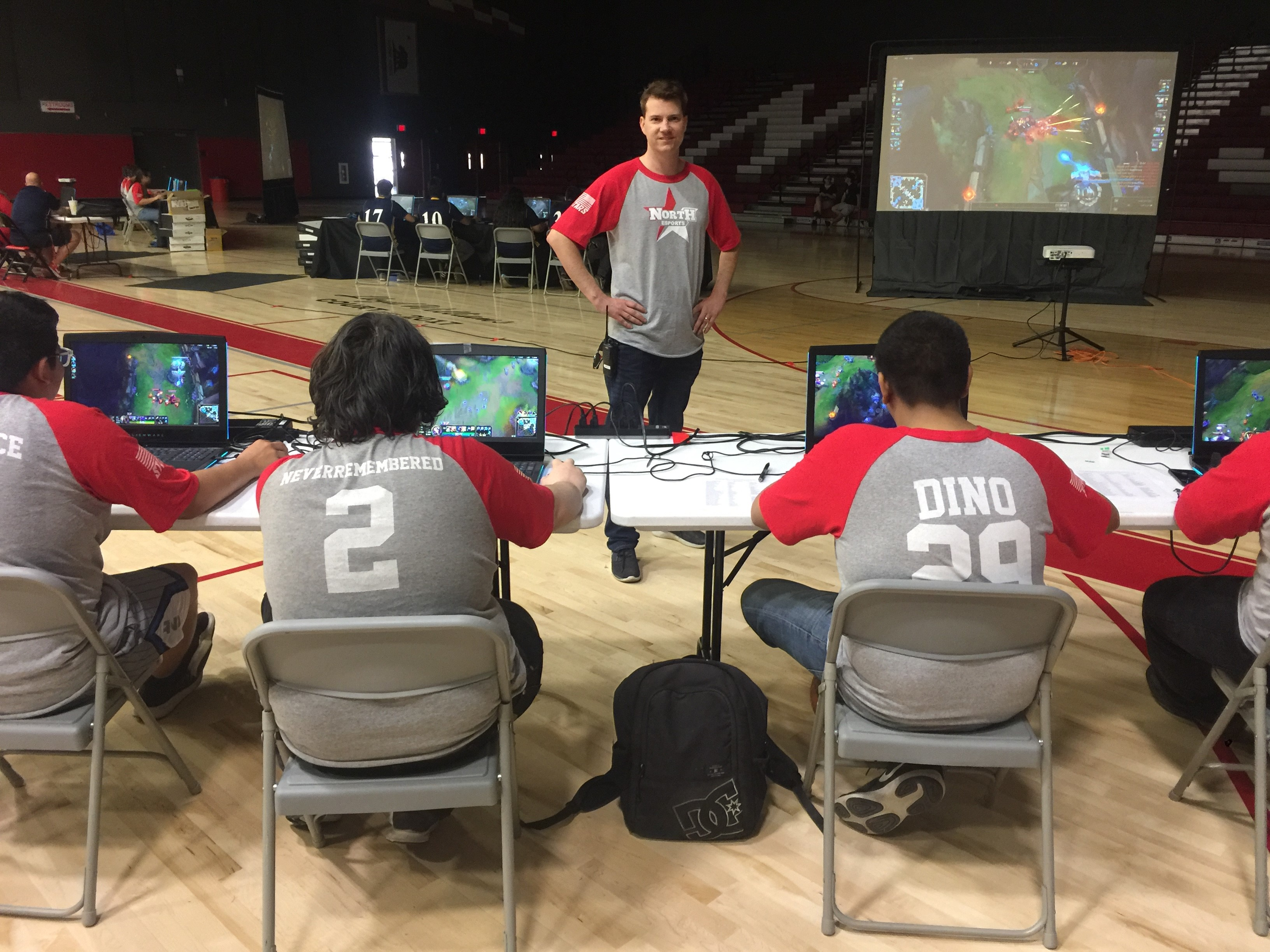 Students at North High School in Bakersfield, California, only play against other schools in the Kern High School District, which has 16 esports programs.