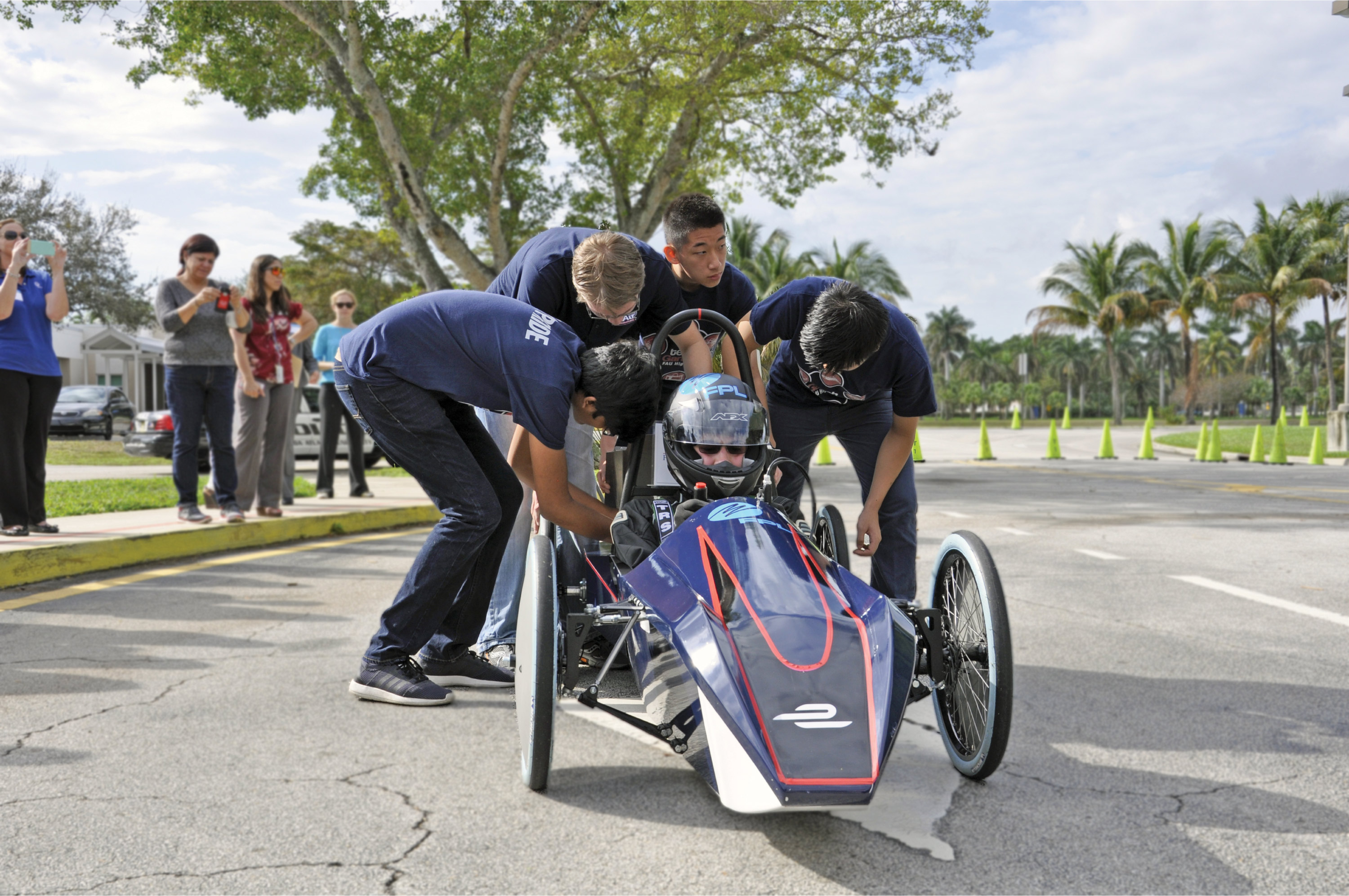 By engaging in myriad active, hands-on STEM learning and activities, students at Florida Atlantic University Lab School District have gained critical life skills.