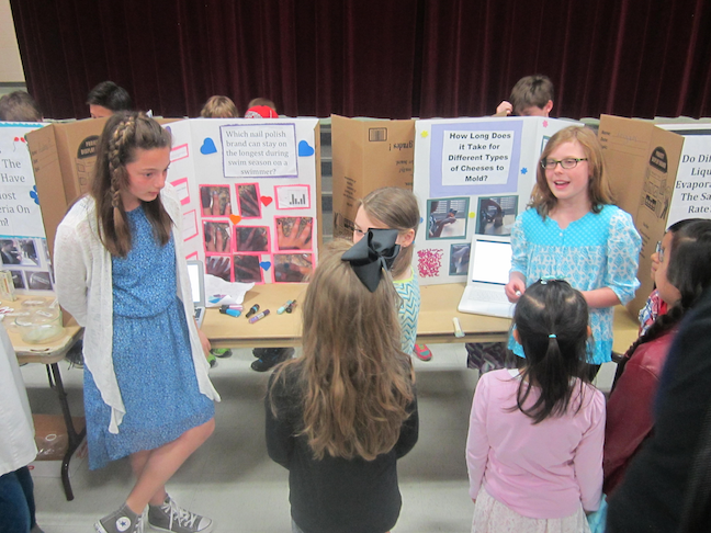 All fourth- and fifth-grade students at Westgate Elementary in Arlington Heights, Illinois, participate in the Inquiry Fair, learning communication, project management and media analysis skills along the way.