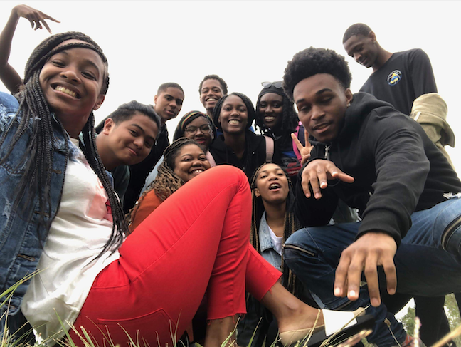 District of Columbia Public Schools' study-abroad tips, which are fully funded, bring together students from different schools across the city.