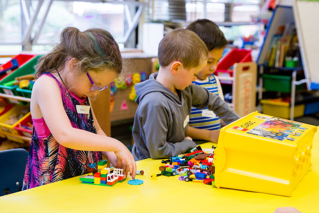 Evening preschools, such as this program in Vancouver, Washington, are among the many ways school district leaders are expanding access to pre-K to better prepare children for kindergarten.