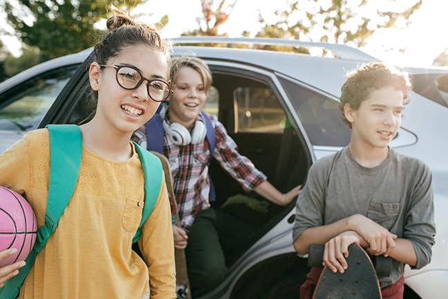 Ride-hailing companies that transport students to school say their drivers are subjected to extensive background checks and must have experience working with children.