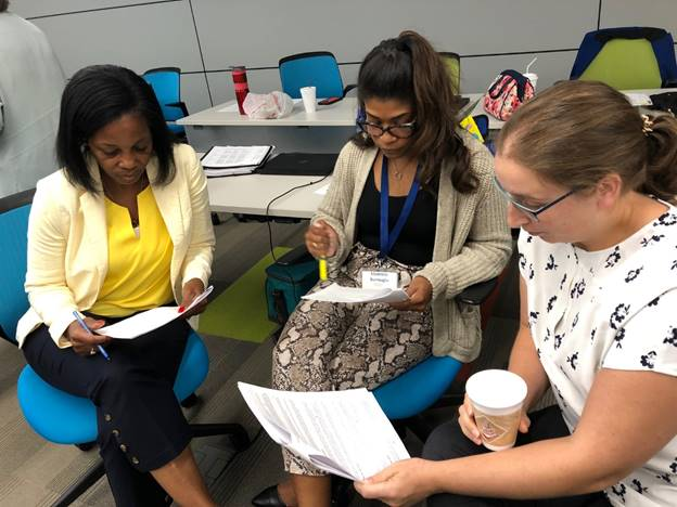 Fulton County Schools special education leaders mapped out 10 key behaviors of special educators, including collaborating on lesson plans, personalizing instruction and developing a classroom management system that accommodates the needs of specific students.
