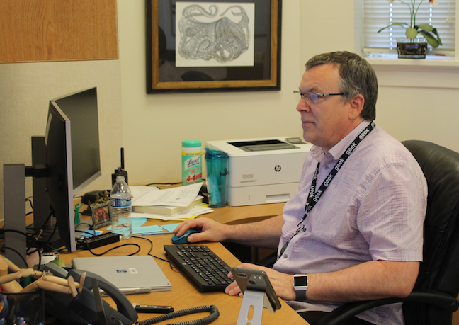 The CIO's roles and responsibilities for Tacoma Public Schools' Chief Information Officer Ed Grassia include being on guard against cyberattacks and making sure the district's networks and data are protected in case of natural disaster or human error.