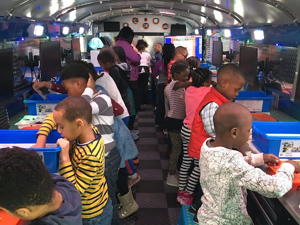 K-5 students in Baltimore County Public Schools now have access to STEM learning, thanks to the Mobile Innovation Lab.