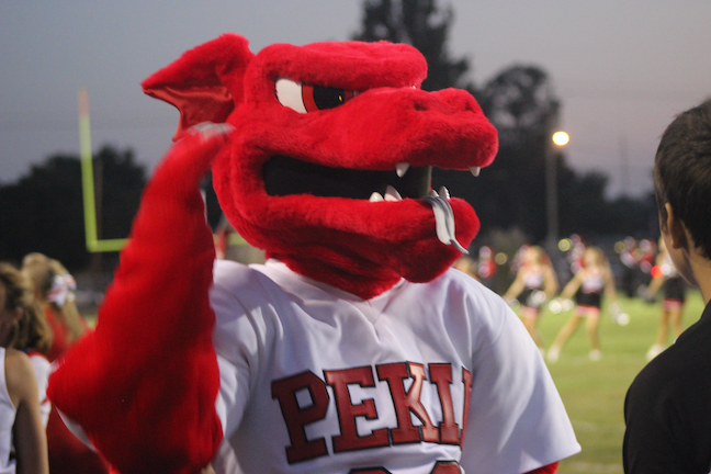 Pekin Community High School District No. 303 in Illinois changed its mascot in 1980 from a derogatory term for Chinese people to the dragon.