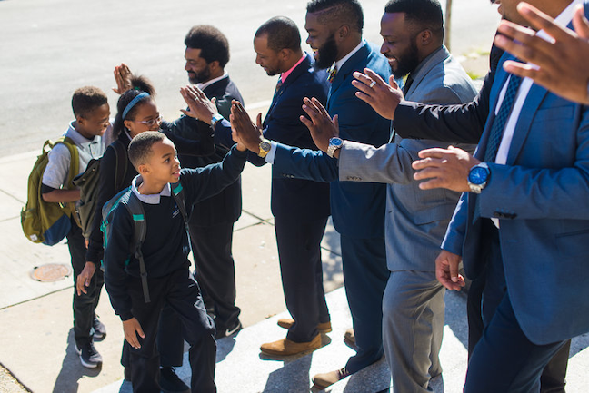"In Philadelphia, educators created ""The Fellowship: Black Male Educators for Social Justice"" program to inspire younger Philadelphia students of color, particularly males, to consider a teaching career."
