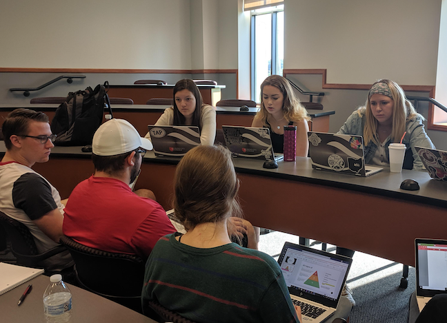 Student teachers at Grove City College in Pennsylvania participate in virtual co-op programs in which they are paired with and mentored online by a professional classroom teacher.