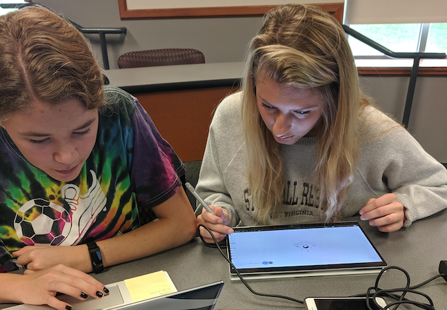 Student teachers at Grove City College in Pennsylvania are already participating in professional learning communities in education. They are paired virtually with a classroom teacher who mentors them and gives feedback on digital lessons they've created.