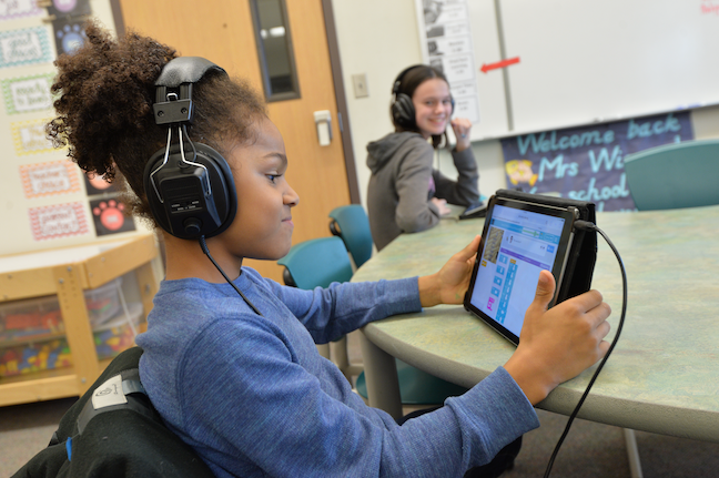 Coding and STEM activities for special education students is a regular activity for a growing number of elementary school students in Washington's Vancouver Public Schools, as teachers have integrated computer science into everyday instruction.