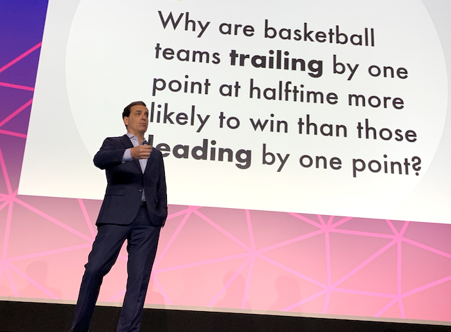 Opening keynote speaker Daniel Pink told the FETC audience that students are wired to work on independent, self-directed and artistic projects in the afternoon.
