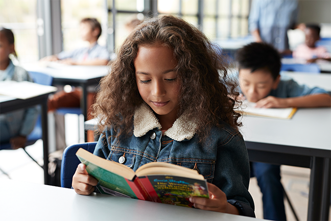 Adding more reading time to the school day—at the expense of subjects such as social studies and science—will not help struggling readers make progress.(gettyimages.com: Klaus Vedfelt)