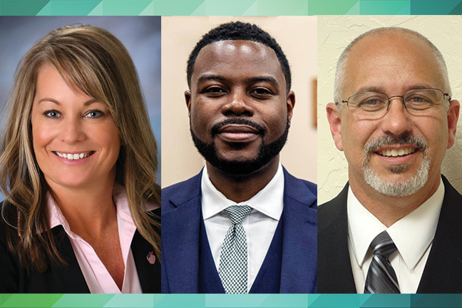 This principal and superintendent news roundup features education leaders who have created HR restructuring strategies, are improving graduation rates and have earned a principal of the year award.