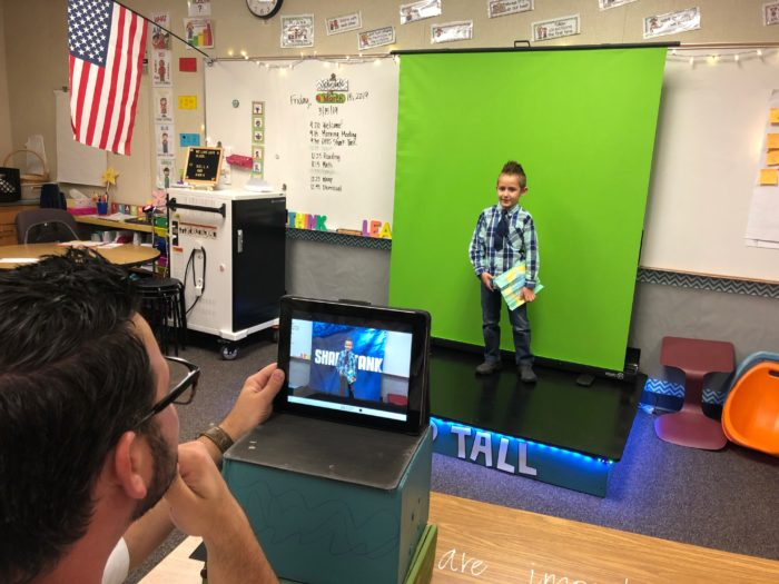 Innovation coaches work with teachers and students to provide expertise on how to use technology in the classroom and to help students share their projects with a wider audience. Innovation coaches also help during professional development for teachers.