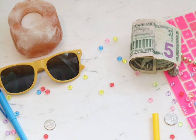 Financial literacy in math courses can be combined with the algebra, probability, and statistics skills students need to make sound personal finance decisions. (Katie Harp/Unsplash)