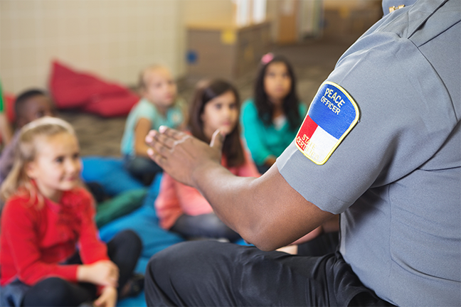 Police officers' role in school safety is under scrutiny thanks to video of the arrest of a 6-year-old charter student in Orlando, Florida.(gettyimages.com: SDI Productions)