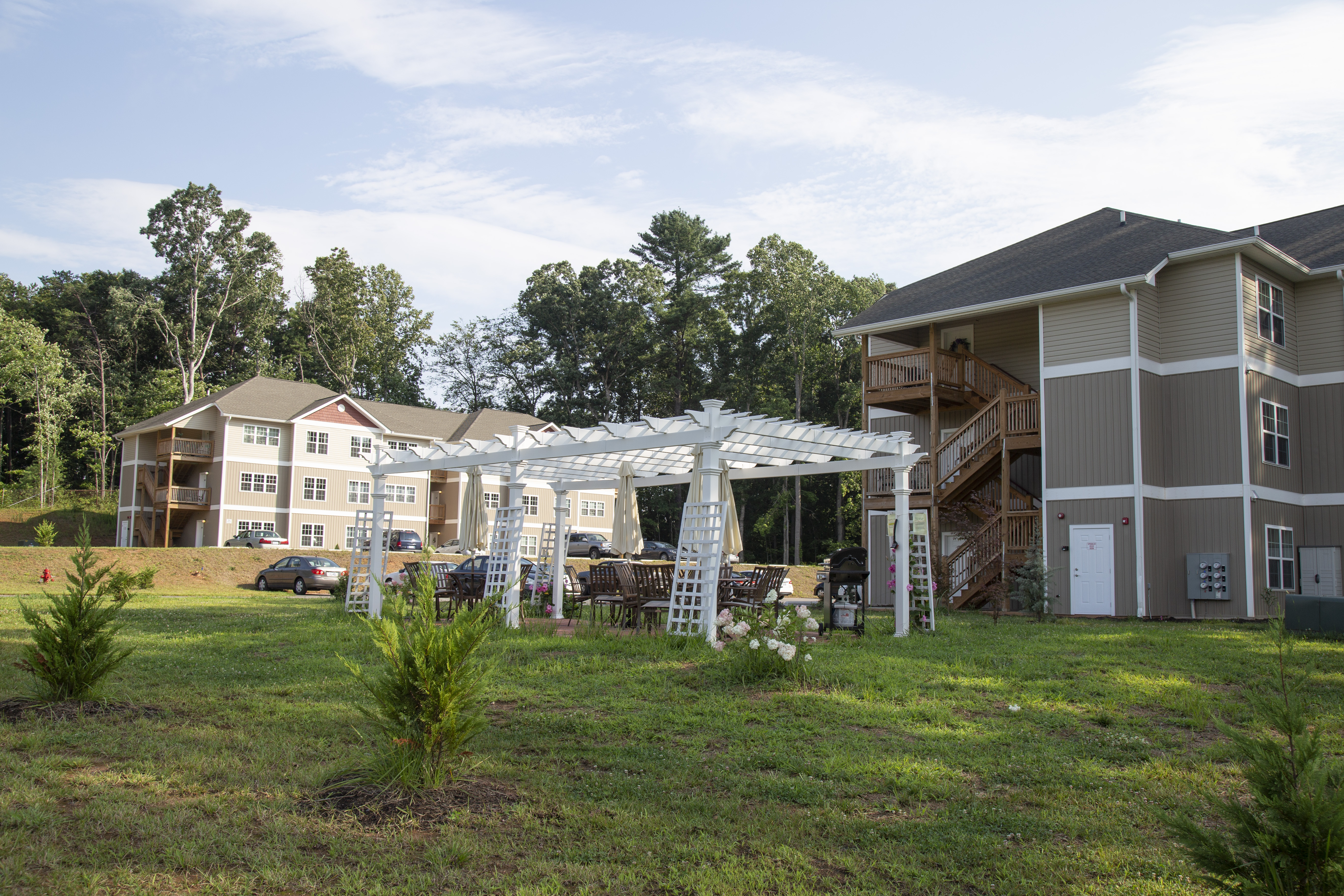 Buncombe County Schools built a housing complex for teachers to help contend with rising housings on the thriving region around Asheville, North Carolina. (Photo: Buncombe County Schools Communications Department)