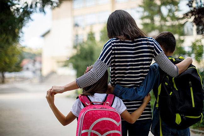 "Inadequate and uneven school funding has raised equity issues around the activity of wealthy ""helicopter parents,"" a new Council on Contemporary Families report says. (gettyimages.com: damircudic)"