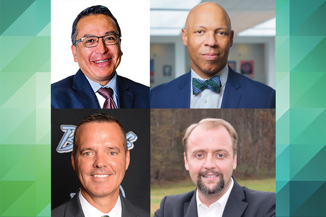These four administrators were either named a Superintendent of the Year or became the recipient of another distinguished K-12 award recently. DA also recognizes five new superintendents.