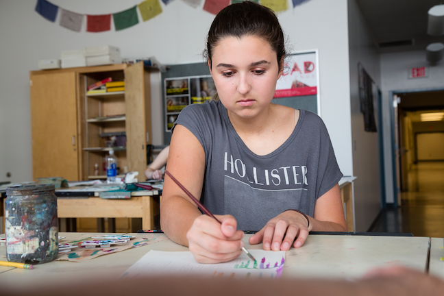 Competency-based educators in New Hampshire's Sanborn Regional School District constantly develop new performance tasks that allow students to show mastery. (Photo: Reaching Higher NH)