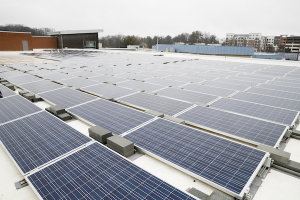 Wilde Lake Middle School, part of Howard County Public School System, opened in 2017 as the first net-zero energy school in Maryland.