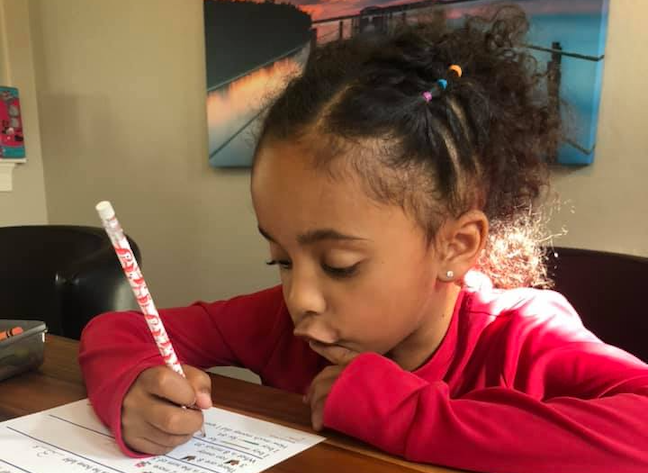 Teachers at Legacy Traditional Schools,a charter school network in Arizona and Nevada, email families to encourage students to participate in one live online learning session each day.