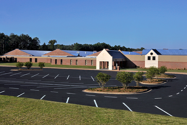 Eagle's Landing Middle School, like other schools in Henry County, will have less students attending in person this coming year, since some families will opt for remote learning instead.