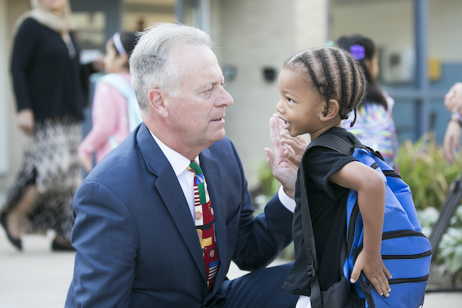 "Student voice impacts ""everything we do"" Howard County Public School System Superintendent Michael Martirano, and has recently led to a more diverse curriculum and a looser dress code."