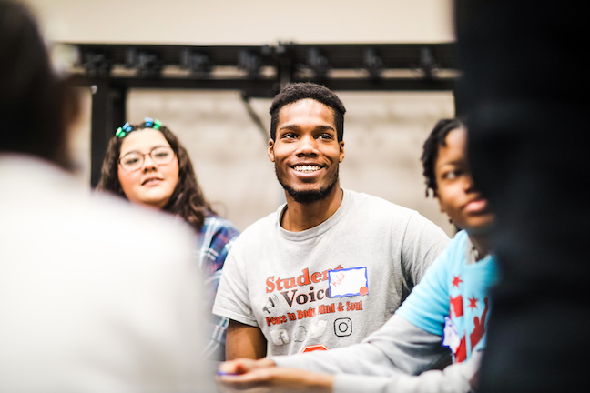 Members of Chicago Public Schools student voice committees have become more active in local causes and have also gotten their classmates involved.