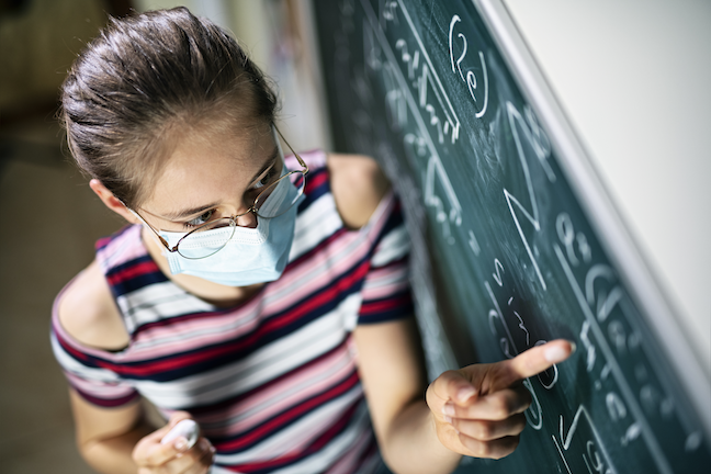 Schools in Europe have reopened successfully as community spread has dropped significantly, but there is no data on the situation the U.S. faces: trying to reopen schools in communities where infection rates are climbing rapidly. (GettyImages/Imgorthand)