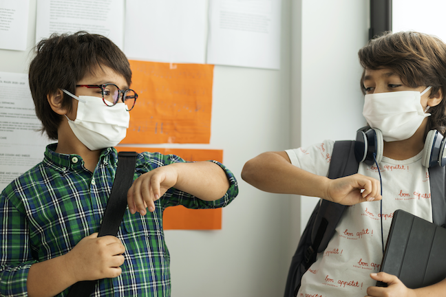 Social-emotional learning, or SEL, will help students and staff process emotions and traumas experienced during the COVID pandemic as regular instruction resumes. (GettyImages.com/Westend61)
