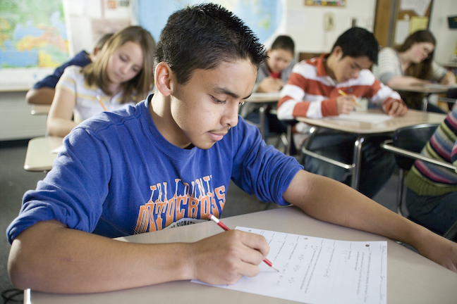The nonprofit assessment organization NWEA has recommended a slate of state and federal policies lawmakers can enact to develop more effective tests as students adapt to online and hybrid learning.(GettyImages/Will & Deni McIntyre)