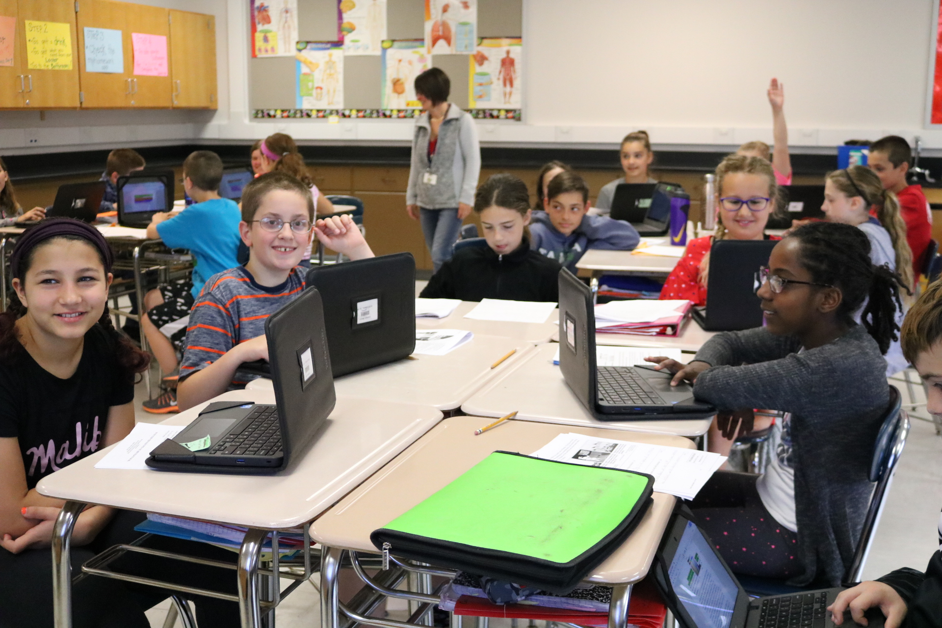 Before automating math interventions to help students struggling with math, 84% of Williamsville Central School District students in grade 5 passed the final exam. Since the district began using grade free tests at all four middle schools, the district's passing rate has increased to 90%. The first pilot school now has a 95% passing rate.