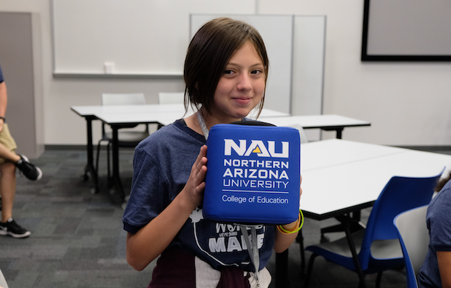 Students in Arizona's Pendergast Elementary School District learn to build positive relationships with adults when they are asked to give input on various educational and social issues.