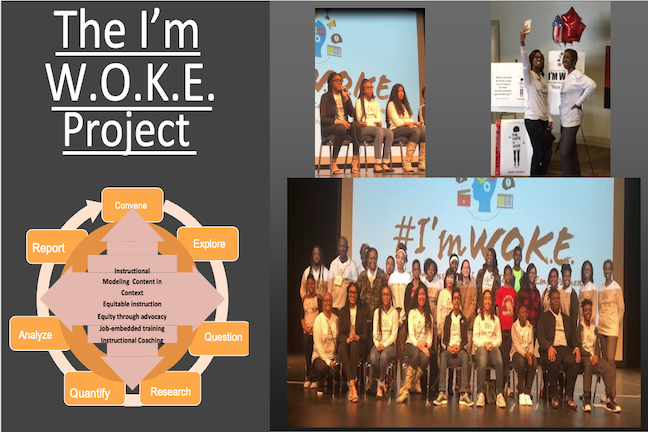As part of the I'm WOKE project, students in Clayton County Public Schools will study the disparate impact COVID-19 has had on people from different ethnic groups.