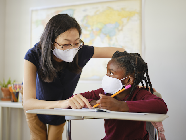 A return to measuring student academic growth in 2021 will allow educators to gauge any learning loss that has occurred during the COVID pandemic. (GettyImages/RichLegg)