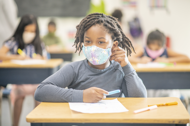 COVID could be a transformative period for social-emotional learning and dismantling systemic racism in K-12 schools, researchers say. (GettyImages/FatCamera)