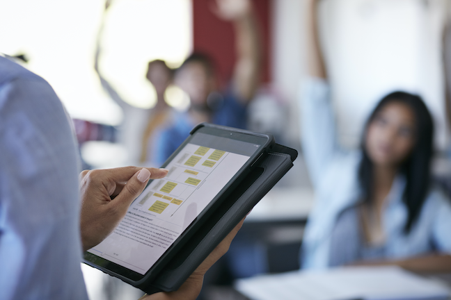 While CIOs have long considered themselves a part of teaching and learning, a growing number of other administrators are now sharing that view. (GettyImages/Klaus Vedfelt)