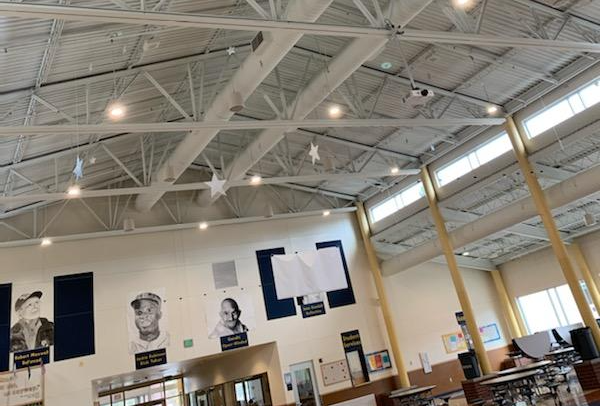 Replacing fluorescent lights with LEDs is a key way many schools are becoming more energy efficient.